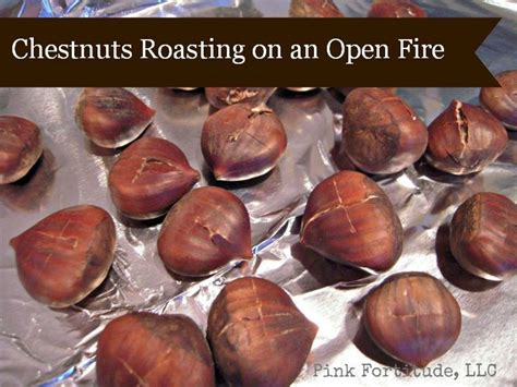 How To Roast Chestnuts In A Fireplace by Chestnuts Roasting On An Open Ovens The O Jays And