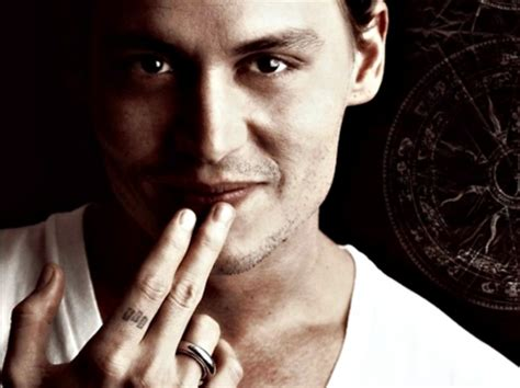 johnny depp tattoo on ring finger johnny depp actors people background wallpapers on