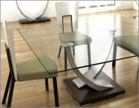 Contemporary Glass Dining Room Tables Interior And Exterior Design Dining Room Table Design Ideas