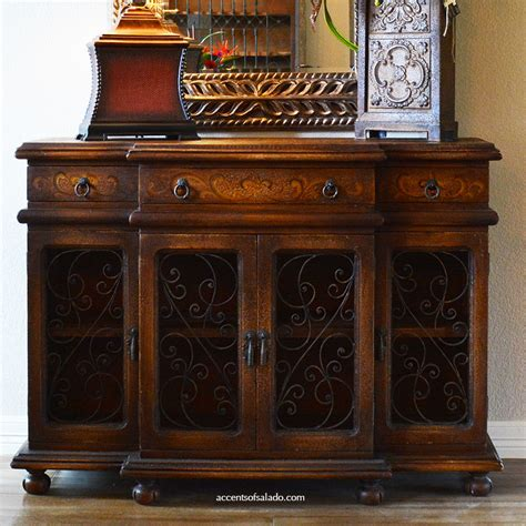 Old World Hand Painted Furniture Dining Room Buffet Saint World Dining Room Furniture