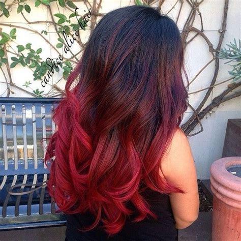 fotos de mechas californianas en rojo 17 mejores ideas sobre mechas californianas rojas en