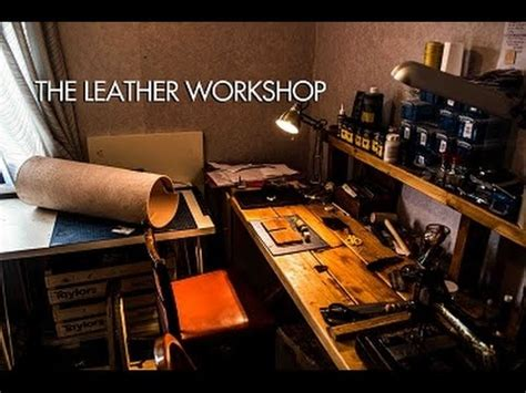 Handmade Leather Workshop - the leather workshop