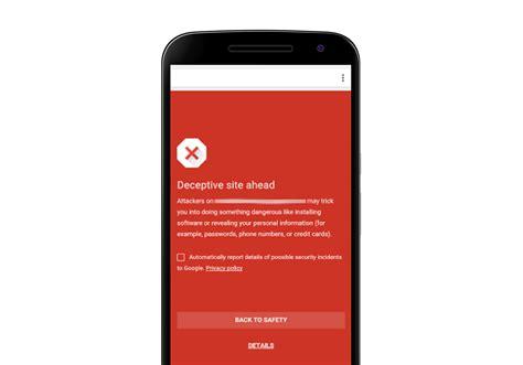 android chrome chrome op android is zojuist een stuk veiliger geworden