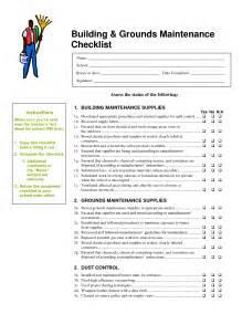 commercial building inspection checklist template best photos of building maintenance inspection checklist