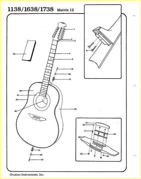 ovation guitar wiring diagram engine diagram and wiring