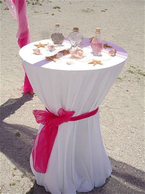 unity sand ceremony table wedding ideas