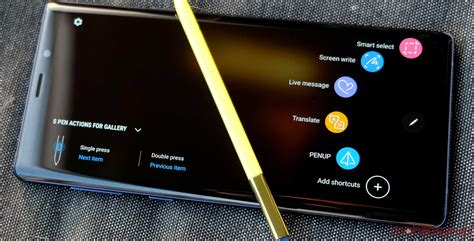 samsung galaxy note 9 samsung galaxy note 9 review the pen sticks out