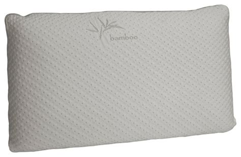bamboo bed pillows queen memory foam bamboo pillow bed pillows by