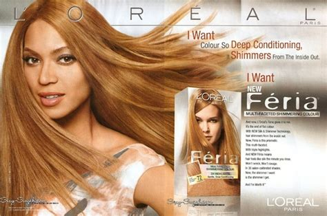 hair colour new adverts 2015 beyonce