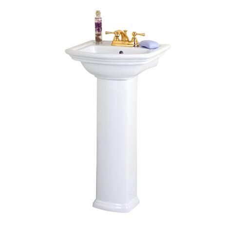 Plumbing For Pedestal Sink by Barclay Washington Pedestal Sink Atg Stores
