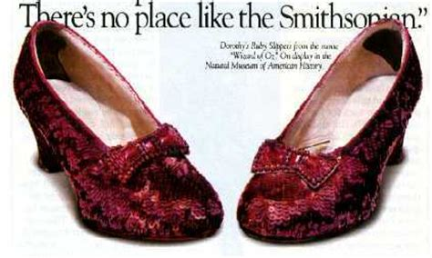 which smithsonian has ruby slippers two views of the smithsonian s ruby slippers