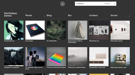 28 customizable and free wordpress portfolio themes download