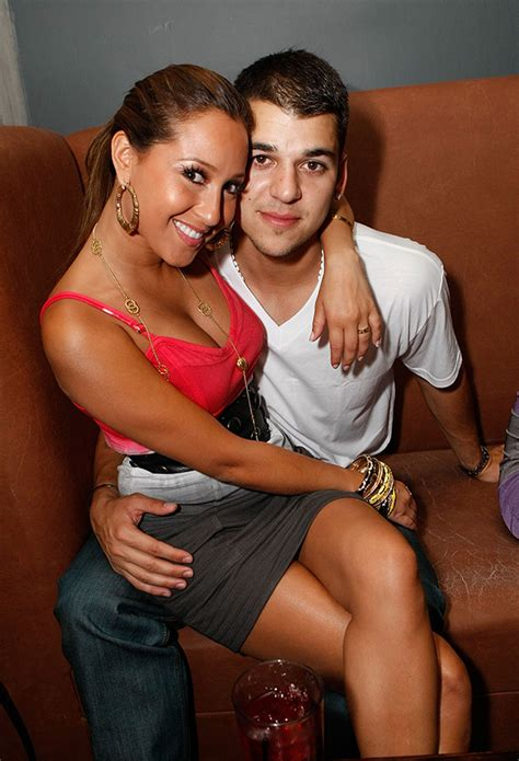 chris brown adrienne bailon feud fans freak out on adrienne bailon rob back together she