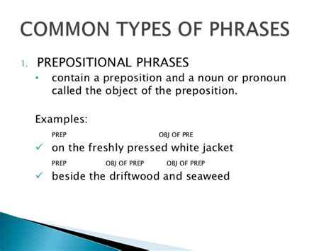 Modification Of Noun Phrase by Phrases And Clauses