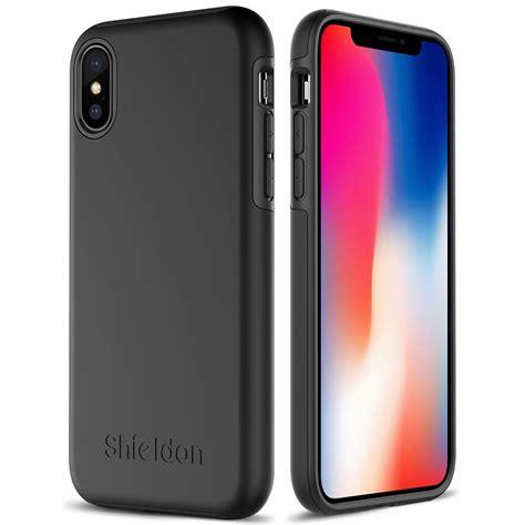shieldon iphone xs iphone  case black color case