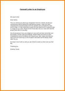 Goodbye Letter Resignation by Resignation Letter Letter To Resigned Employee Leaving Letter From Company To Employee Png