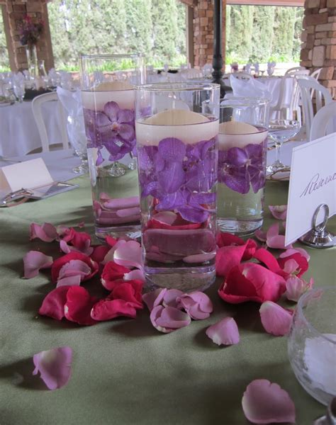 submerged centerpieces wedding centerpieces at