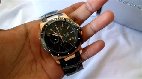 Jam Tangan Expedition Original For Black Rosegold review jam tangan alexandre christie ac 6141 black rosegold original