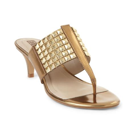 tracy sandals tracy sea sandals in gold lyst
