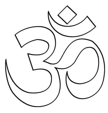 symbol hinduism colouring pages projects to try