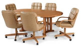 Kitchen Tables And Chairs With Wheels 23 Dining Room Table And Chairs With Wheels Cheapairline Info