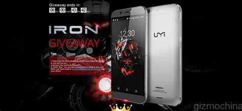 Umi Giveaway - umi and its partners are giving away umi iron smartphones gizmochina