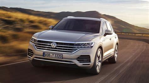 volkswagen suv touareg 2018 volkswagen touareg revealed revealed