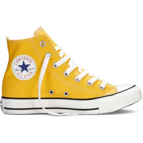 light yellow converse shoes converse chuck taylor all star fresh colors yellow