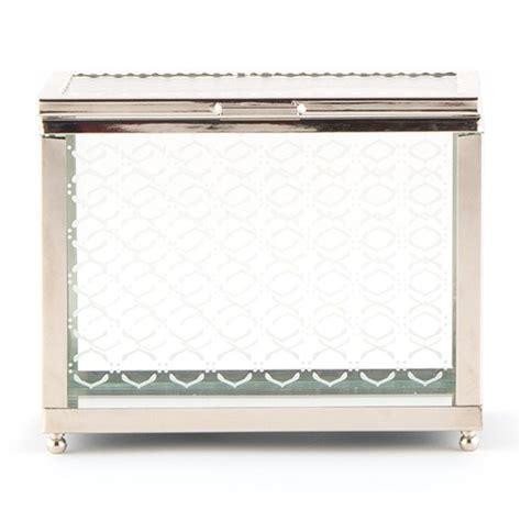 decorative glass box decorative glass box with mirror base confetti co uk