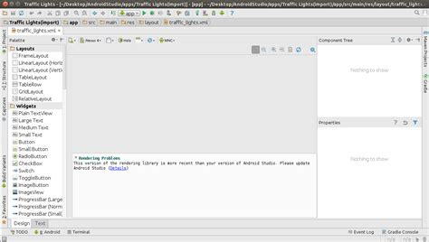 android studio version eclipse android studio rendering library more recent than version of android studio ask ubuntu