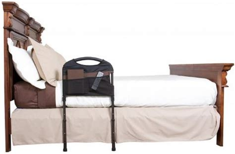 stable safety bed rail with organizer free shipping