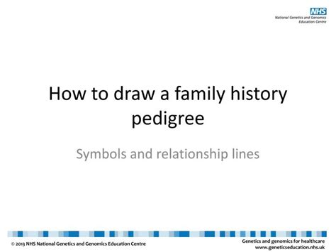 how to create doodle presentation ppt how to draw a family history pedigree powerpoint