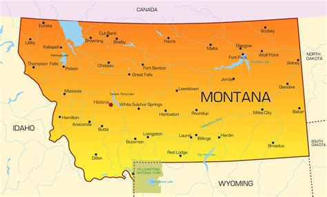 map usa montana montana lpn requirements and programs