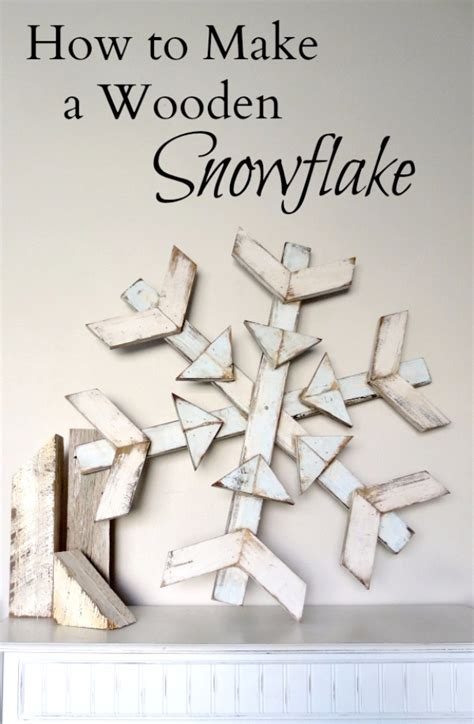how to make christmas decorations at home easy 31 creative diy projects with snowflakes diy joy