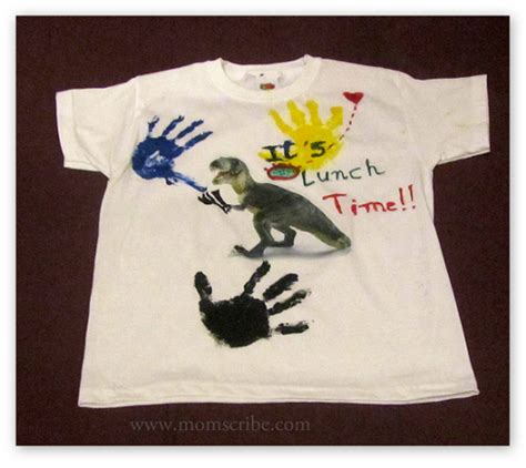 how to design a shirt using paint how to design your own t shirt kids activities momscribe