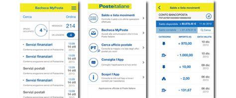 conto deposito banco posta 200 arrivata la nuova app di conto bancoposta 187 sostariffe it