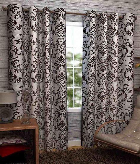 window curtains india homefab india set of 2 window eyelet curtains buy