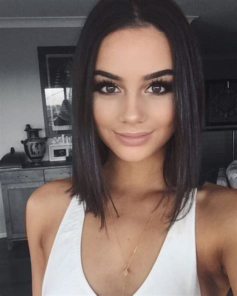 best hairstyles instagram best 25 short dark hair ideas on pinterest short
