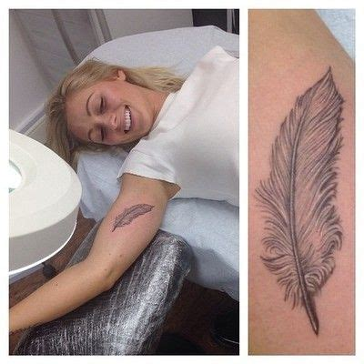 feather tattoo inner bicep feather on inner arm tattoo google search tattoo ideas