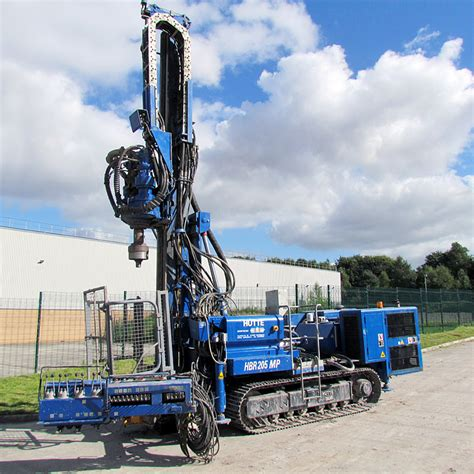 hutte 203 piling rig sonic plant hire rigs sonic plant hire