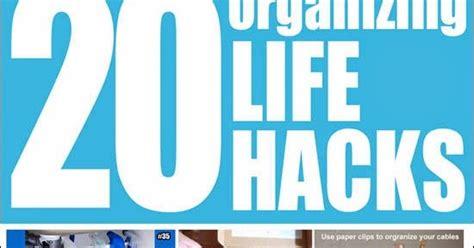 20 organizing life hacks diy craft projects 20 organizing life hacks diy craft projects