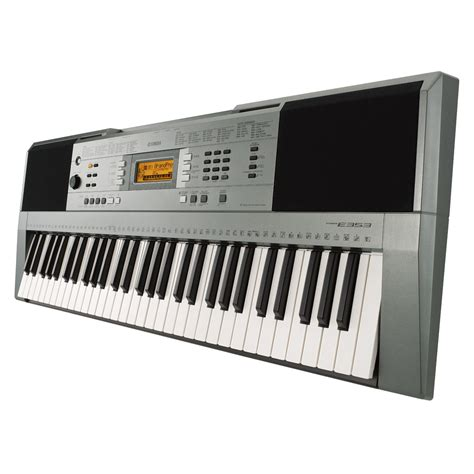 Keyboard Yamaha yamaha psr e353 portable keyboard at gear4music