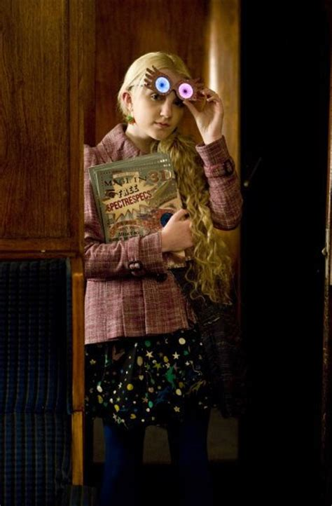 The Harry Potter Press Madness Begins And Evanna Dont Away by Evanna Lynch On Set Harry Potter And The Deathly