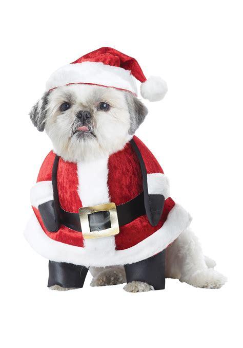 santa puppy santa pup costume