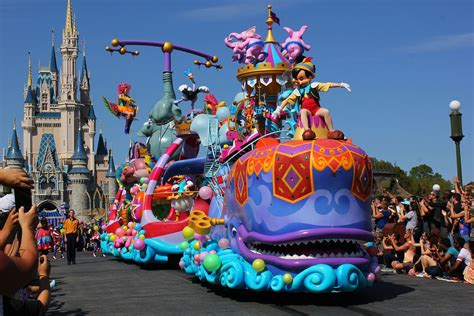 walt disney world flickr festival of parade debut at walt disney world flickr