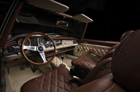 Classic Car Interiors mercedes pagoda by vilner studio 2012 interior design interiorshot