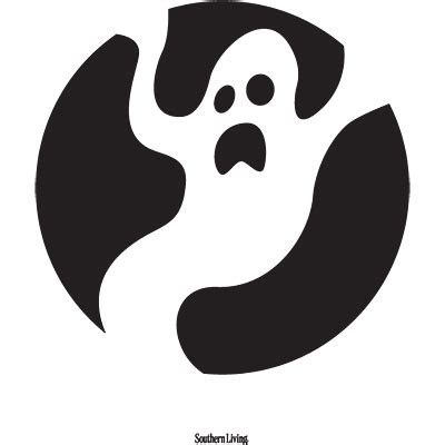 ghost pumpkin template ghost pumpkin carving templates 14 easy printable