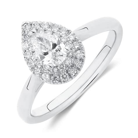 Engagement Ring With 1 Carat Tw Of Diamonds In 14ct Yellow by Engagement Ring With 1 2 Carat Tw Of Diamonds In 14kt