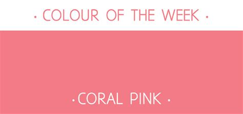 color coral pink rosie simons graphic and surface design colour of the