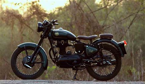 modified bullet 350 modified royal enfield bullet 350 dons true retro look